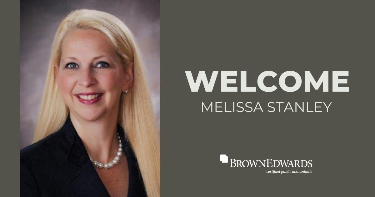 Melissa C. Stanley Joins Brown Edwards